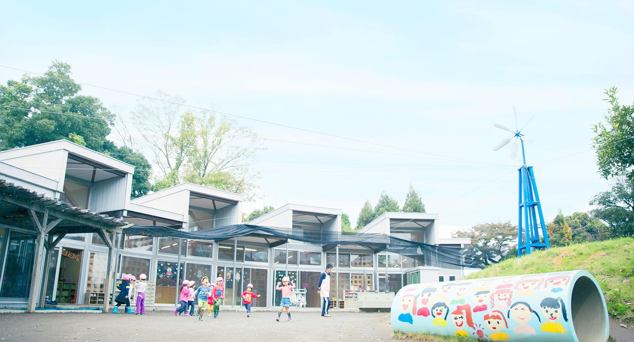 幼稚園と子供達